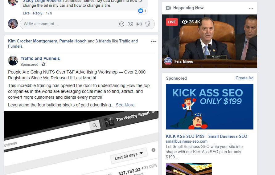 Social Media Ads - Facebook sponsored post
